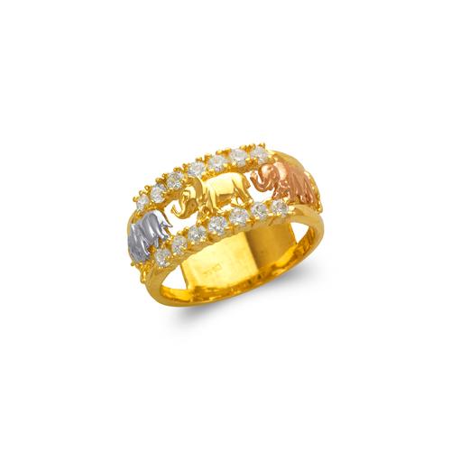 577-209 Ladies Elephant Filigree Ring