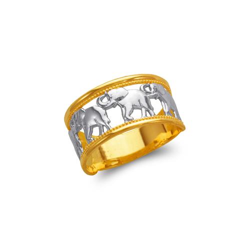 577-211 Ladies Elephant Filigree Ring