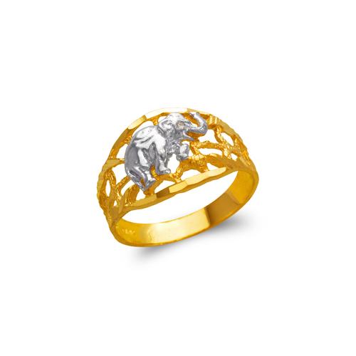 577-212 Ladies Elephant Filigree Ring