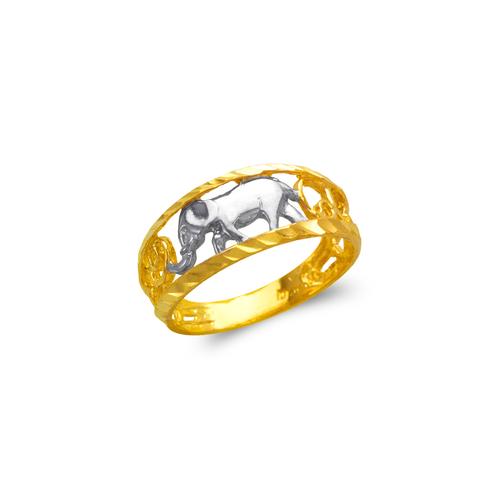 577-213 Ladies Elephant Filigree Ring