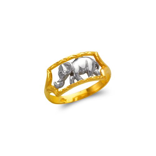 577-214 Ladies Elephant Filigree Ring