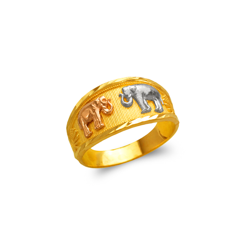 577-225 Ladies Elephant Filigree Ring