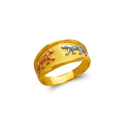 577-230 Ladies Panther Filigree Ring