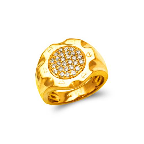 679-001 Men's Cluster CZ Ring