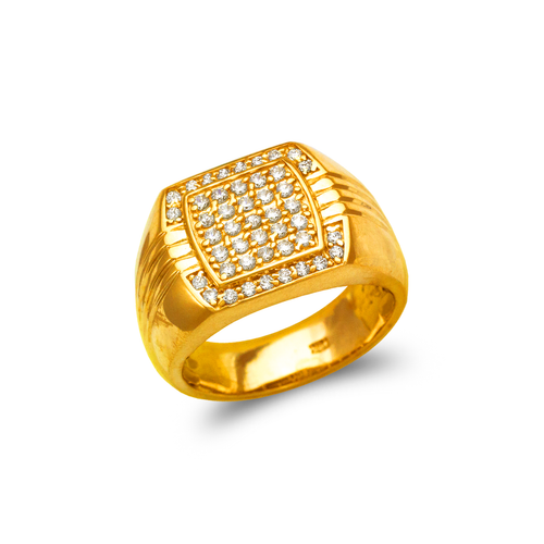 679-003 Men's Cluster CZ Ring