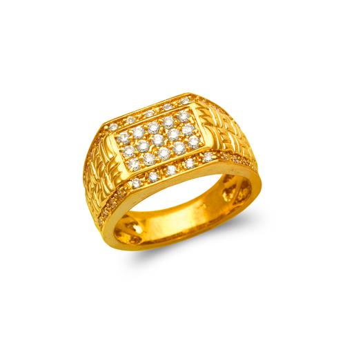 679-004 Men's Cluster CZ Ring