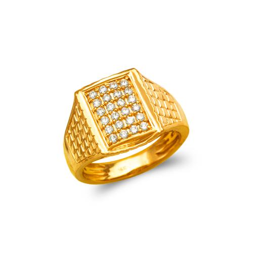 679-007 Men's Cluster CZ Ring