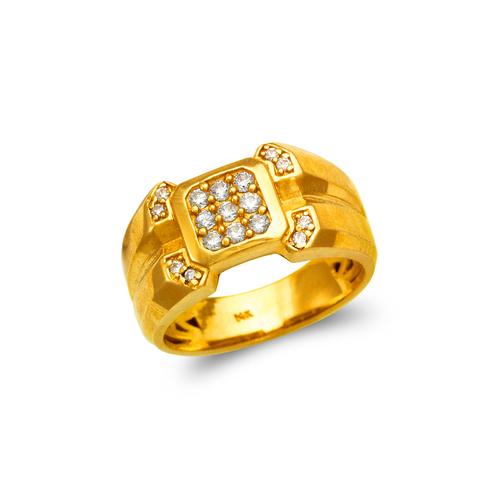 679-009 Men's Cluster CZ Ring