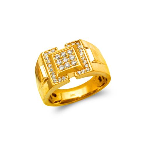 679-010 Men's Cluster CZ Ring