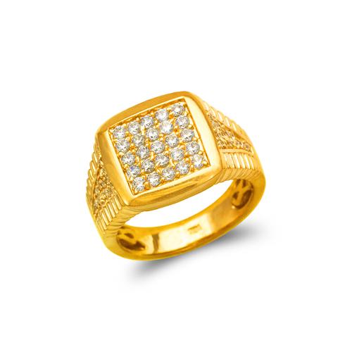 679-011 Men's Cluster CZ Ring