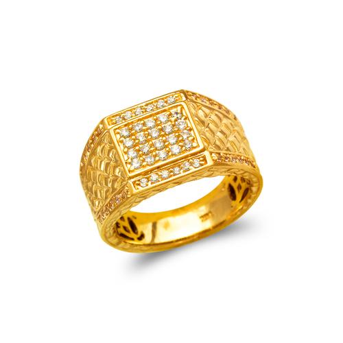 679-012 Men's Cluster CZ Ring