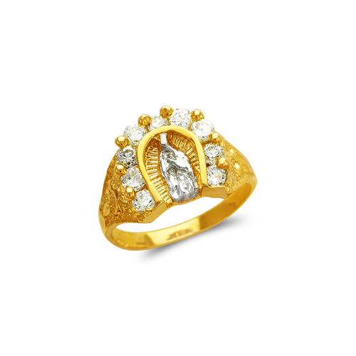 673-706 Ladies Guadalupe CZ Ring