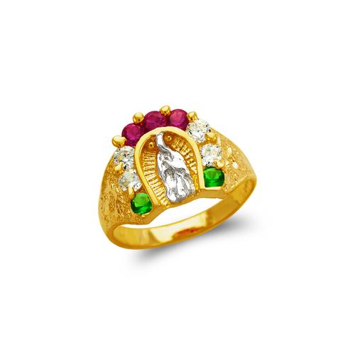 673-707 Ladies Multi Guadalupe CZ Ring