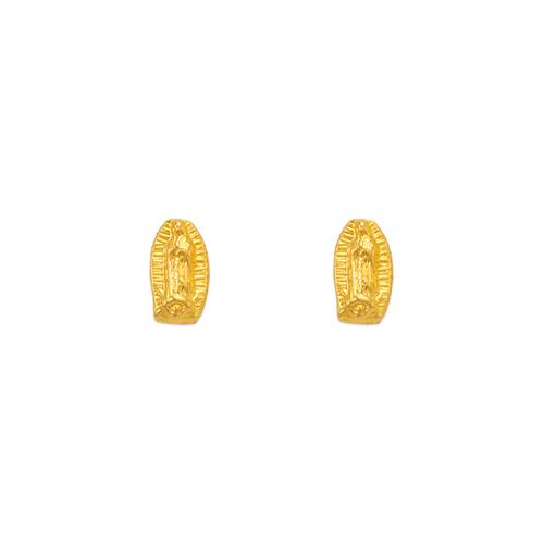 343-305 Virgin Mary Stud Earrings