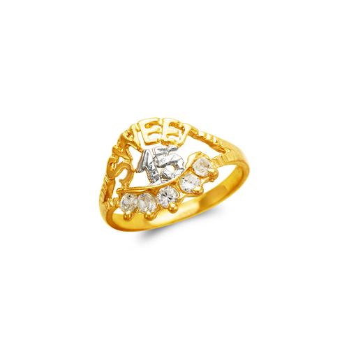 673-720 Ladies Sweet 15 CZ Ring