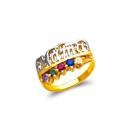 573-015 Mama CZ Ring
