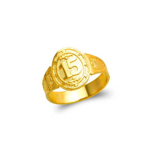 678-002 Ladies 15 Anos Filigree Ring