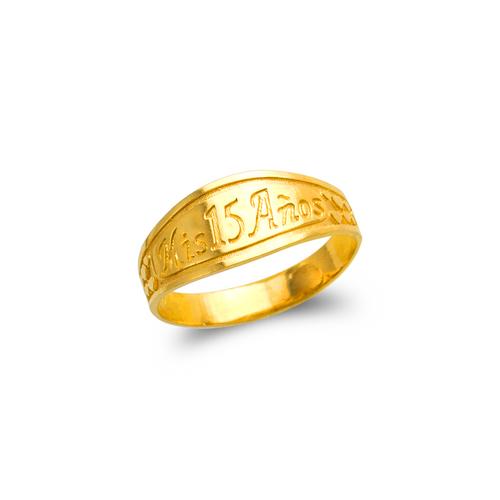 678-010 Ladies 15 Anos Filigree Ring