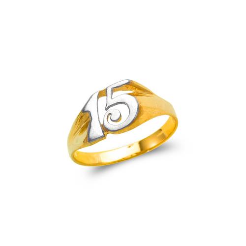 678-012 Ladies 15 Anos Filigree Ring
