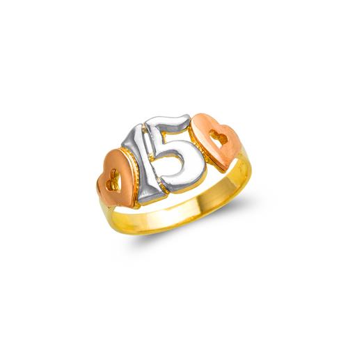 678-013 Ladies 15 Anos Filigree Ring