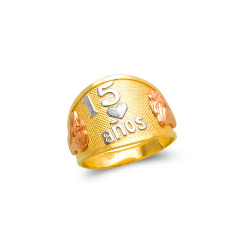 678-016 Ladies 15 Anos Filigree Ring