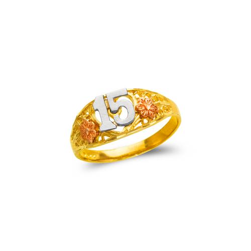678-024 Ladies 15 Anos Filigree Ring
