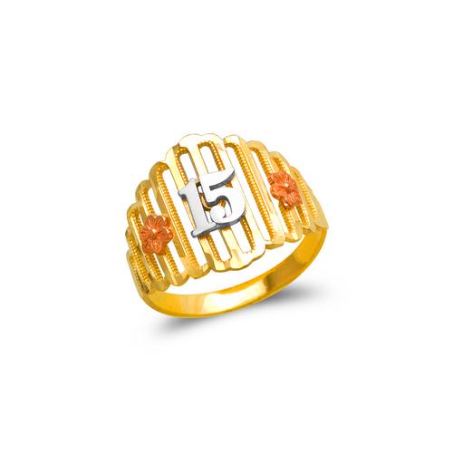 678-025 Ladies 15 Anos Filigree Ring