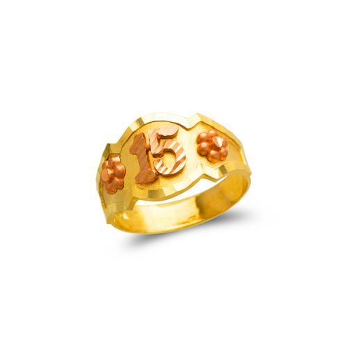678-028 Ladies 15 Anos Filigree Ring