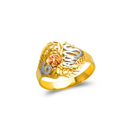 678-032 Ladies 15 Anos Filigree Ring