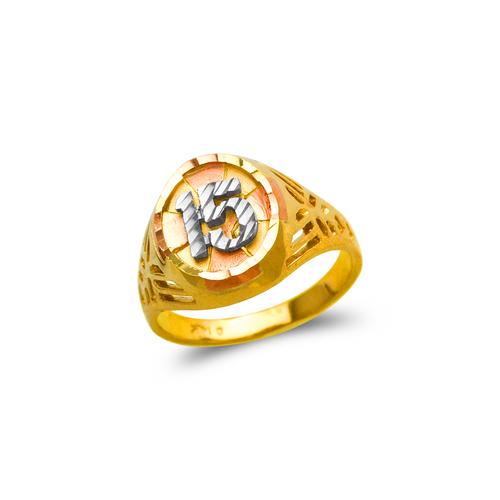 678-033 Ladies 15 Anos Filigree Ring