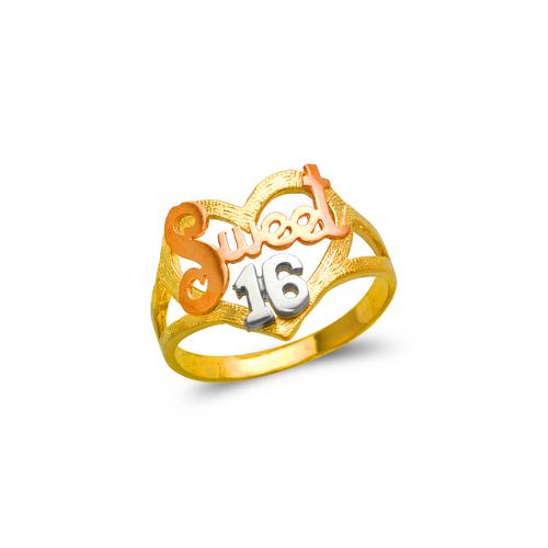 678-037 Ladies Sweet 16 Filigree Ring