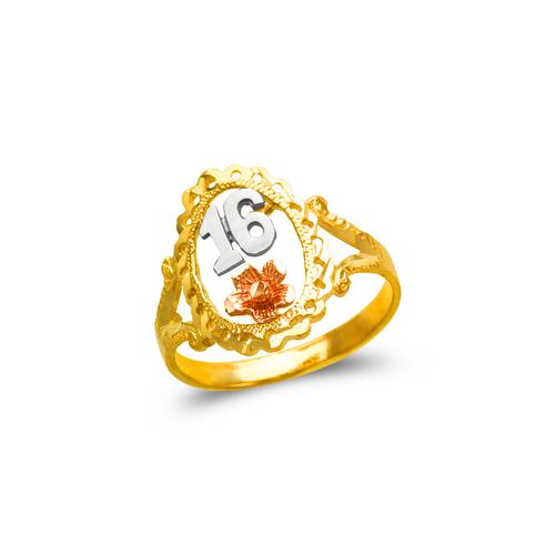 678-038 Ladies Sweet 16 Filigree Ring