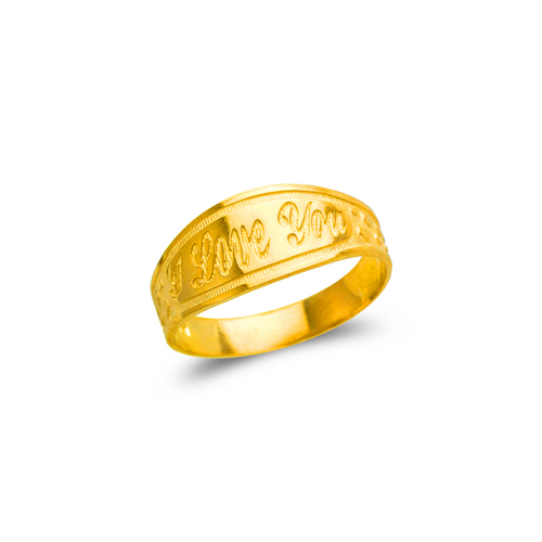 678-039 Ladies I Love You Filigree Ring