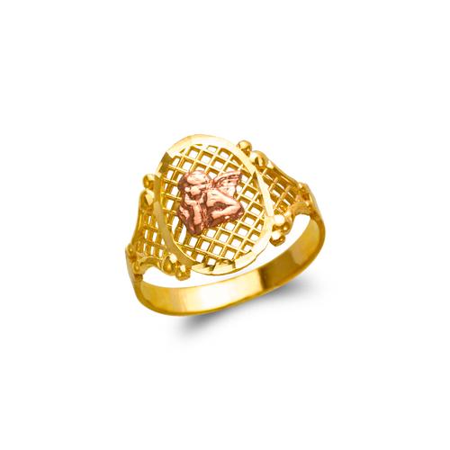 678-144 Ladies Angel Filigree Ring