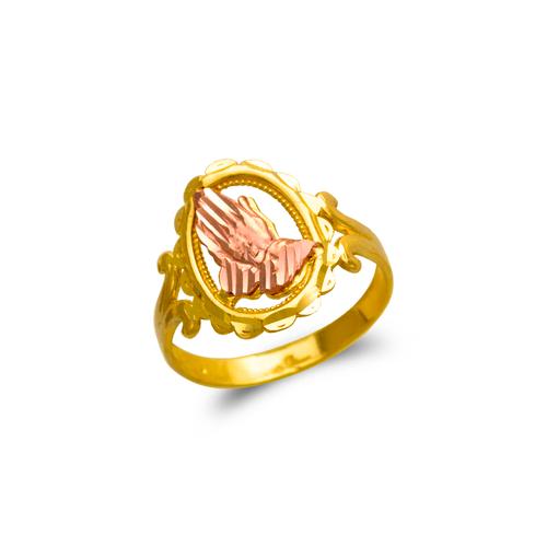 678-146 Ladies Praying Hands Filigree Ring