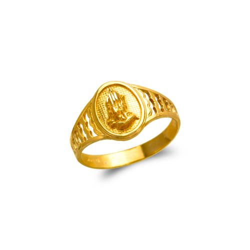 678-148 Ladies Praying Hands Filigree Ring