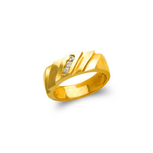 873-501 Ladies Couple CZ Ring