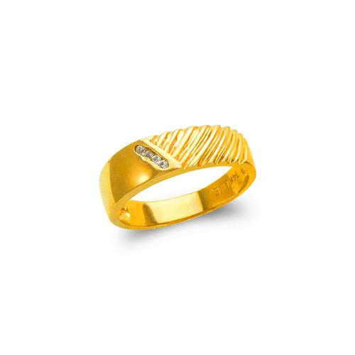 873-503 Ladies Couple CZ Ring
