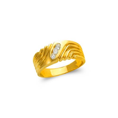873-509 Ladies Couple CZ Ring