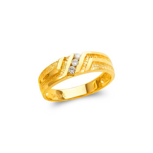 873-512 Men's Couple CZ Ring