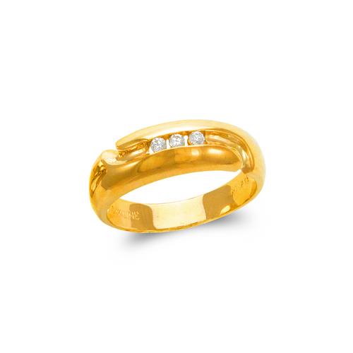 873-514 Men's Couple CZ Ring