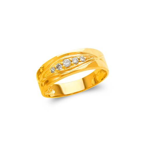 873-520 Men's Couple CZ Ring