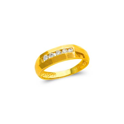 873-523 Ladies Couple CZ Ring
