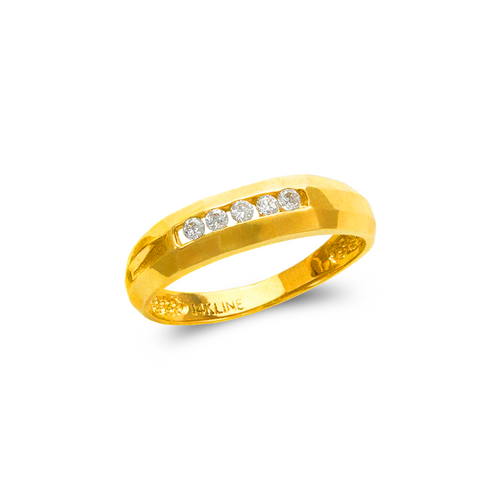 873-524 Men's Couple CZ Ring