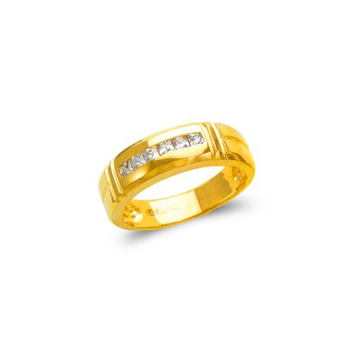 873-525 Ladies Couple CZ Ring