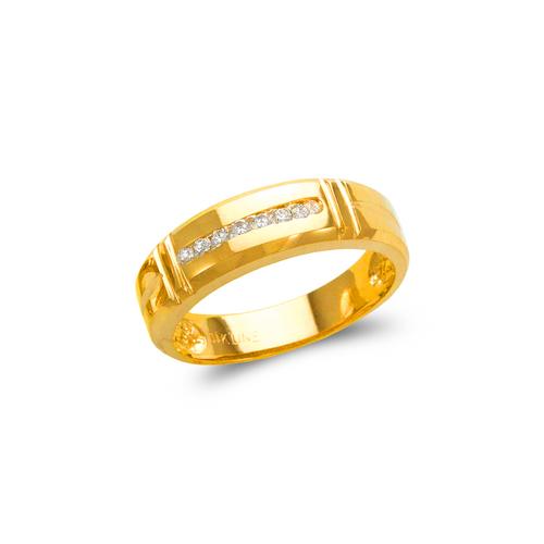 873-526 Men's Couple CZ Ring