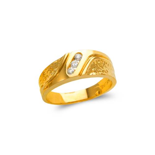 873-528 Men's Couple CZ Ring