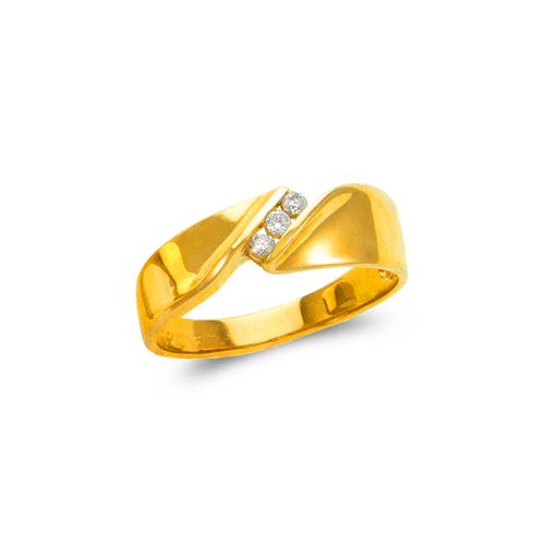 873-530 Men's Couple CZ Ring