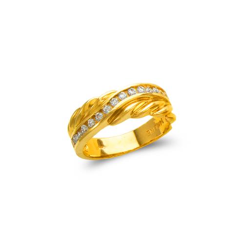 873-531 Ladies Couple CZ Ring