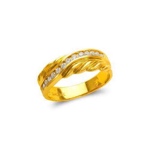 873-532 Men's Couple CZ Ring